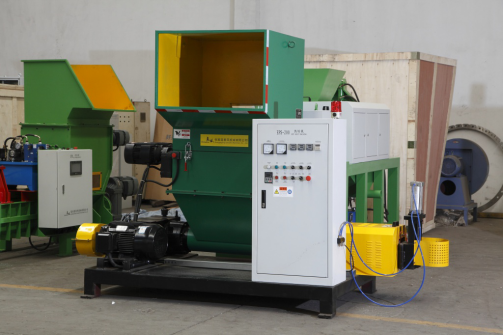 EPS foam hot melt recycling machine