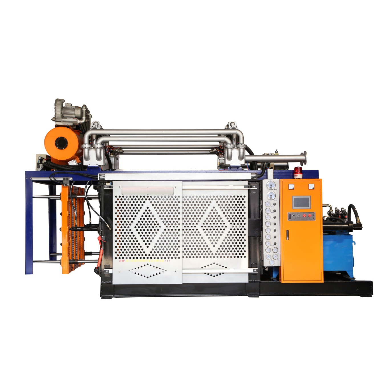 ICF block molding machine