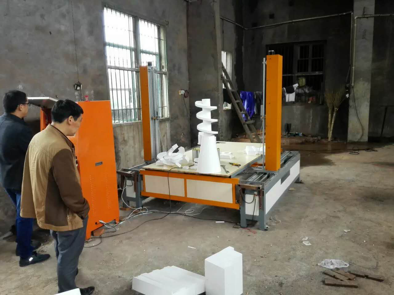 5 axis CNC foam cutter
