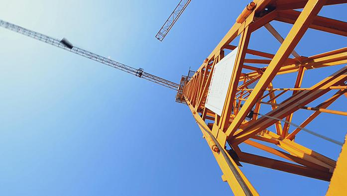High Precision quality Mast secion of Luffing Jib Tower Crane