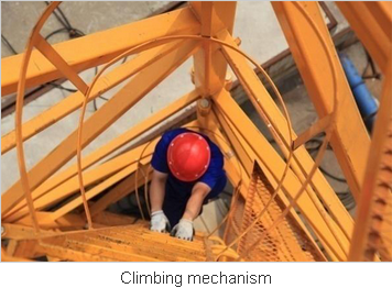 Easy Climbing for the Hammerhead Tower Crane