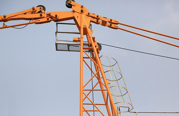 High Efficiency assembling Hammerhead Tower Crane