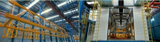 Hammerhead Tower Crane manufacturing equipment