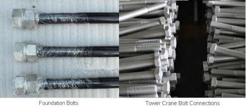 Superior qualit tower crane bolts