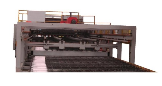 rebar welded mesh machine