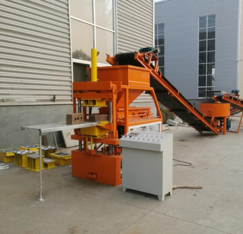 interlock brick machine