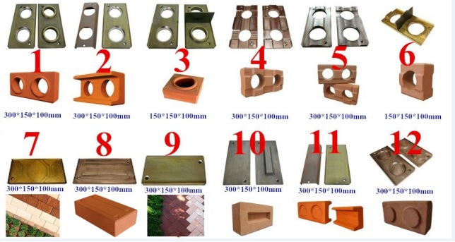 interlock brick mold