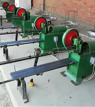 galvanized wire straighten machine