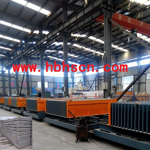 Lightweight Hollow Core Wall Panel Machine