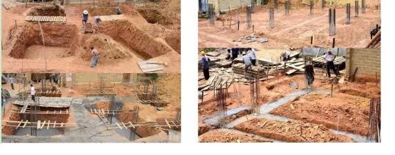 house foundation trenching