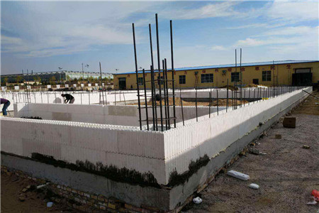 how to build ICF block house