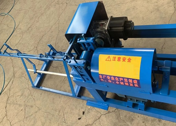 wire straighten and cutting machine