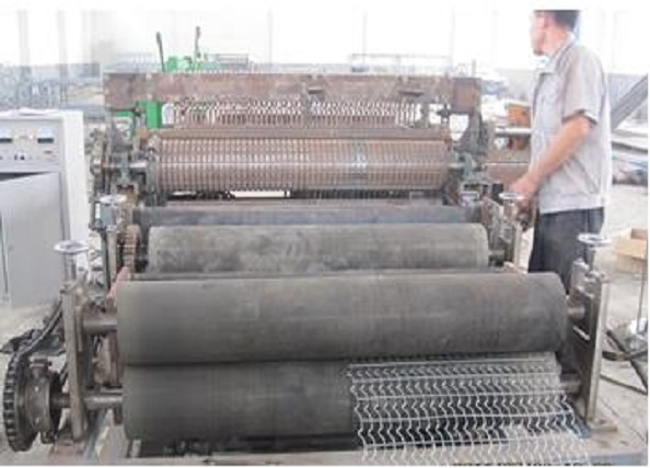 pipe oil mesh machine
