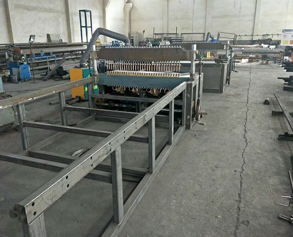 anti climb mesh welding machine