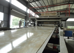 PVC imination marble sheet making machines
