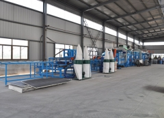 PU sandwich panel production lines