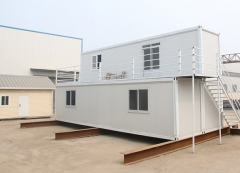 Prefabricated steel structure houses