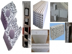 Concrete lightweight wall panel
