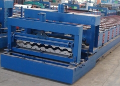 Metal Wave Roof Tile Roll Forming machine