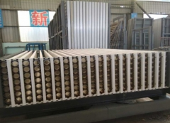 Lightweight wall panel machine