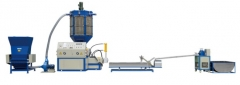 EPS foam recycling pelletizing machine
